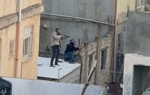 لحظات اطلاق قوات الاحتلال النار على المواطنين في المخيم