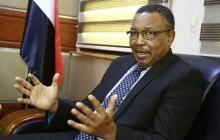 وزير الخارجية السوداني المكلف، عمر قمر الدين