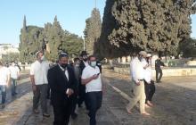 جانب من اقتحامات المستوطنين للمسجد الأقصى الأسبوع الماضي