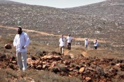 مستوطنون يستولون على أراضٍ فلسطينية في الضفة (أرشيف)