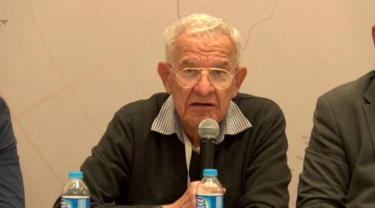 أنيس القاسم رئيس المؤتمر الشعبي لفلسطينيي الخارج، الخبير في القانون الدولي (أرشيف)