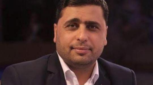 """عبد اللطيف القانوع الناطق باسم حركة المقاومة الإسلامية """"حماس"""" (أرشيف)"""