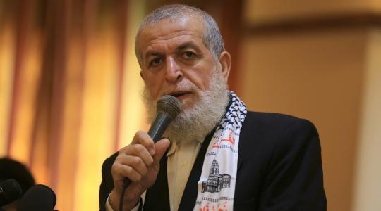 نافذ عزام عضو المكتب السياسي لحركة الجهاد الإسلامي   (أرشيف)