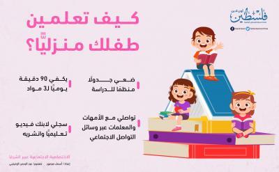 تعليم الطفل منزليا- أسماء