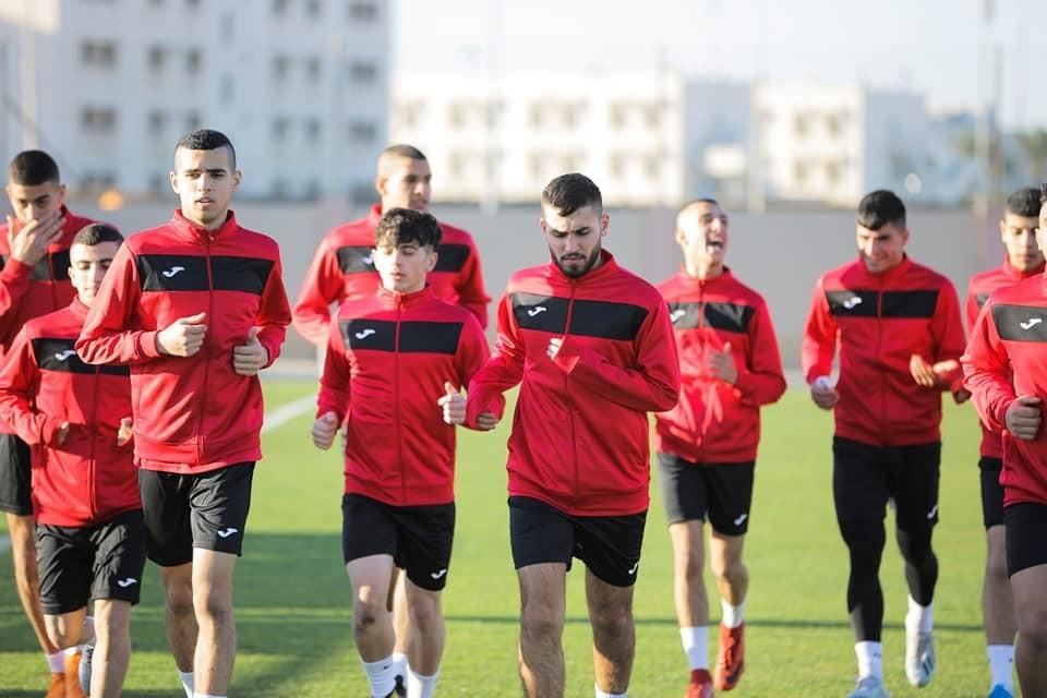 1 - مساعٍ لتمكين لاعبي منتخب الشباب من مغادرة غزة غداً1.jpg